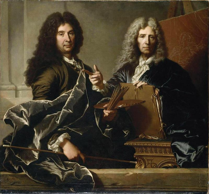 Charles le Brun and Pierre Mignard