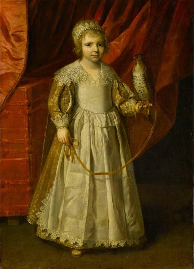 Child with a Falcon