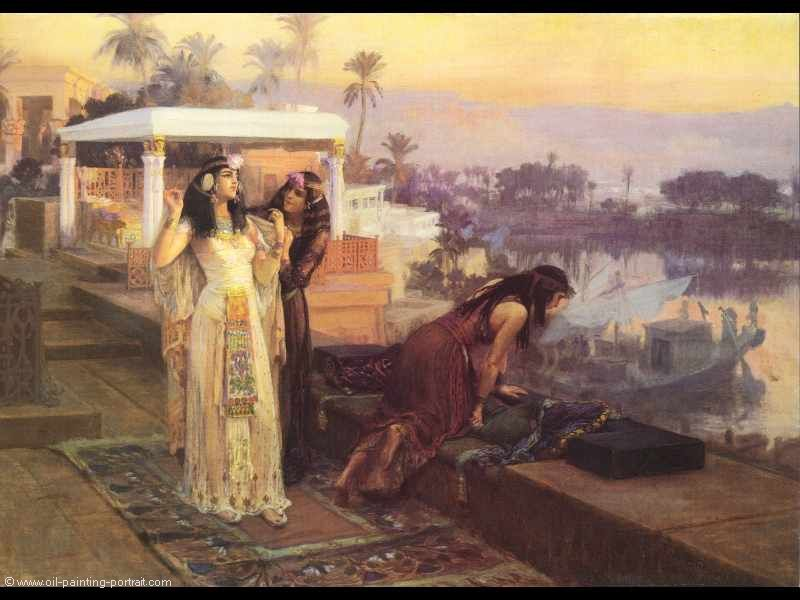 Cleopatra on the terrace of philae bilder gem lde und for On the terrasse