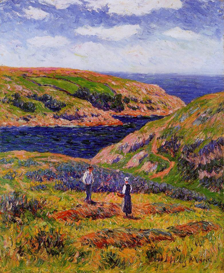 Cliffs at Clohars, Carnoet