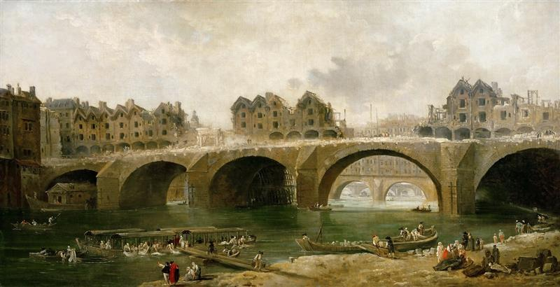 Demolition of the Houses on the Pont Notre-Dame