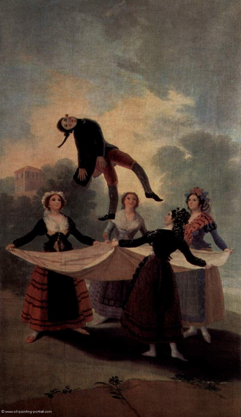 Der Hampelmann - Bilder, Gemälde und Ölgemälde-Replikation