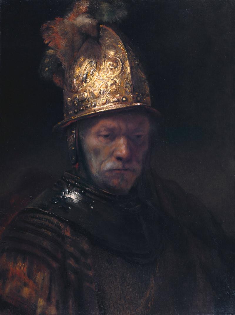 Der Mann Mit Dem Goldhelm Bilder Gemälde Und ölgemälde Replikation