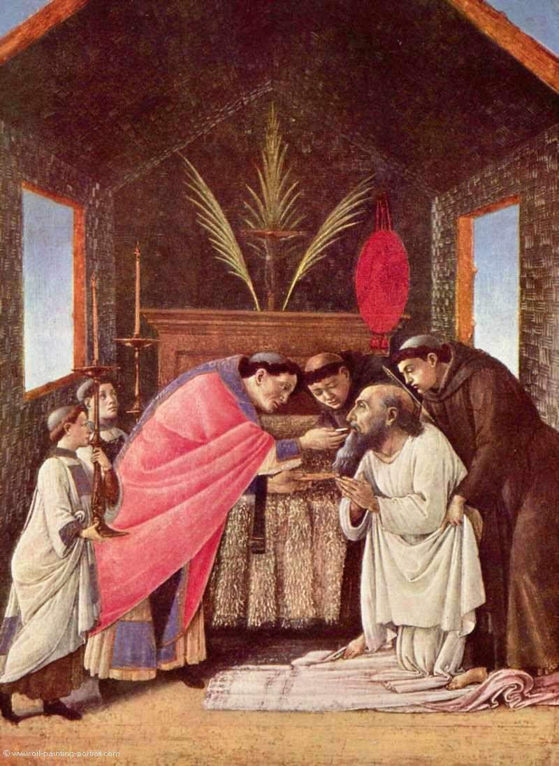 Last Communion of St Jerome