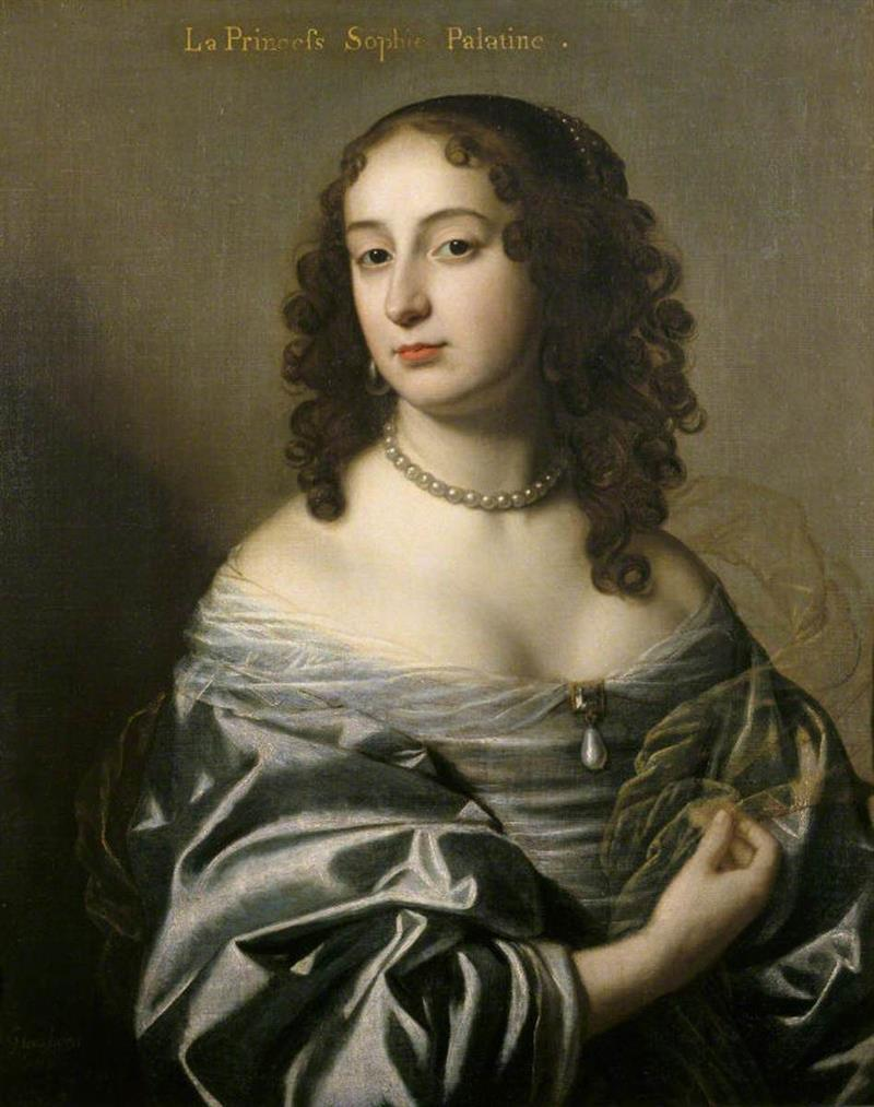 Electress Sophia, Princess Palatine, Consort of Ernest Augustus, Elector of Hanover