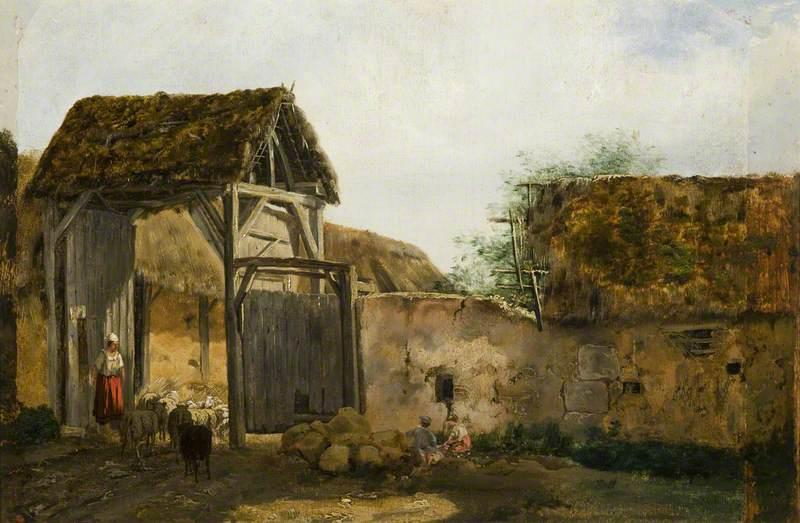 Farmstead with Figures