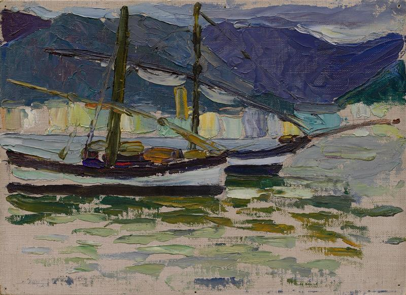 Fishing Boats, Sestri