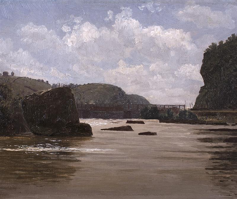 Harper's Ferry, View on the Potomac River