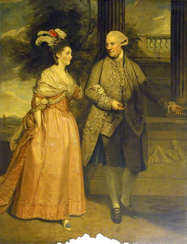 Henry Loftus, Earl of Ely and His Wife Frances Monroe, Countess of Ely