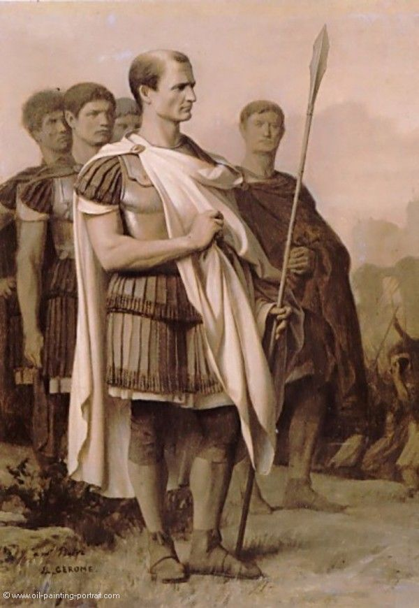 an analysis of the military and political career of julius caesar As gaius julius caesar faced off against the commander he regarded as the most formidable adversary of his military career: his political career.