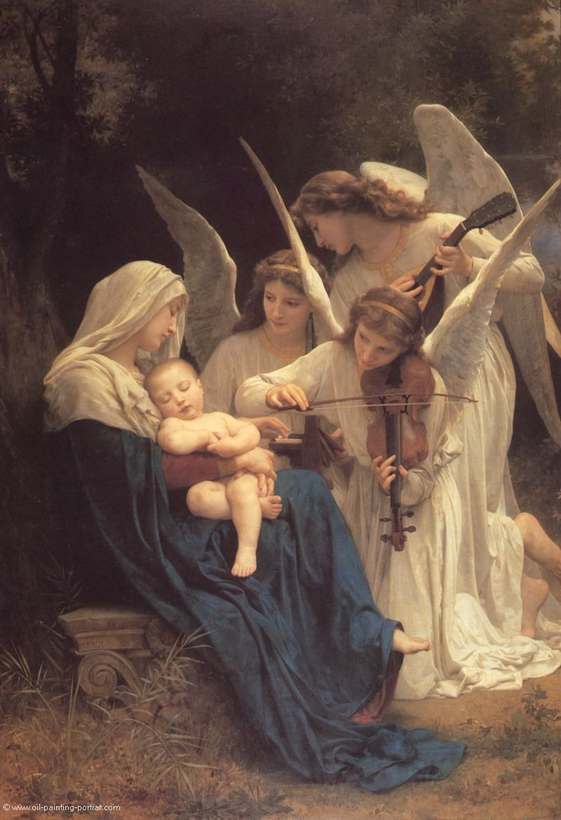 Lied der Engel - Bilder, Gemälde und Ölgemälde-Replikation
