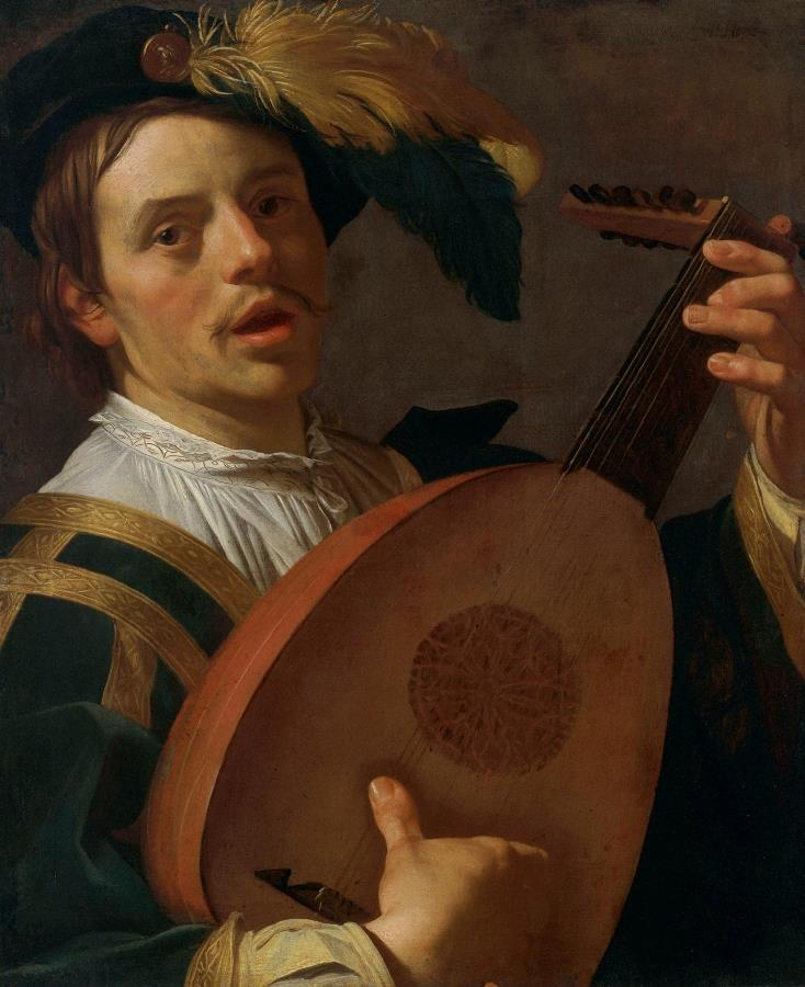 Lute Player-2