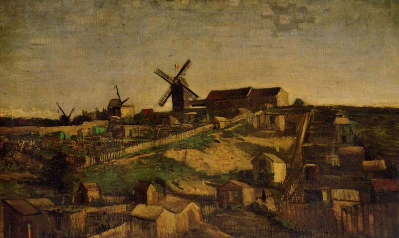 Montmartre (The Quarry and Windmills)