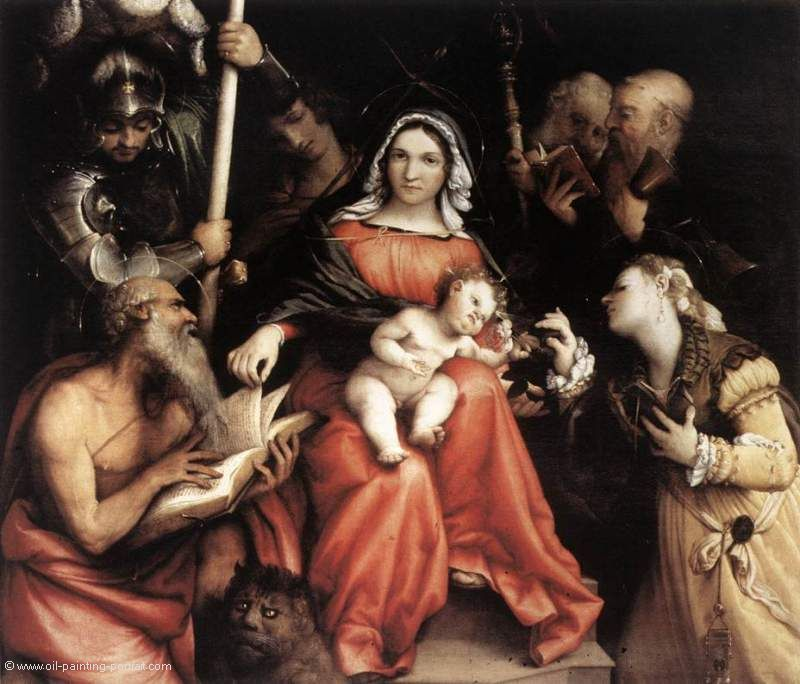 Mystic Marriage of St. Catherine