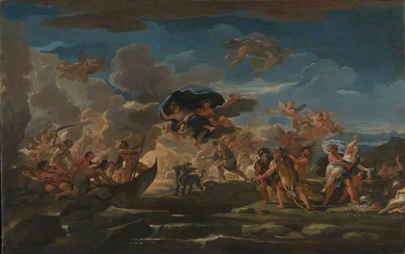 Mythological Scene with the Rape of Proserpine