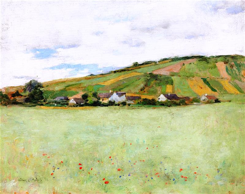 Oat Field, Giverny