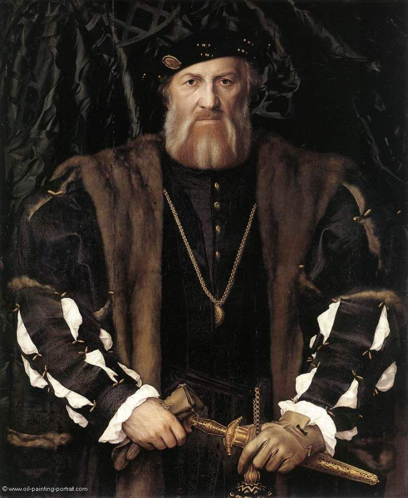 Portrait of Charles de Solier Lord of Morette