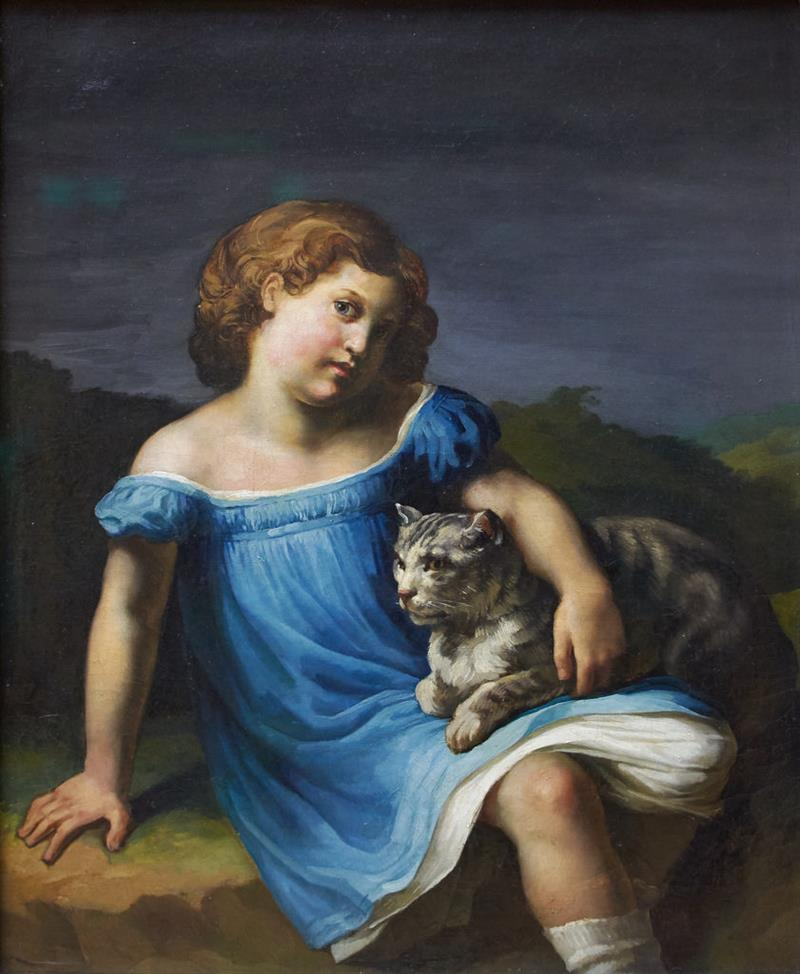 Portrait of Louise Vernet as a Child