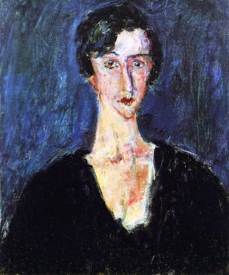 Portrait of Madeleine Castaing