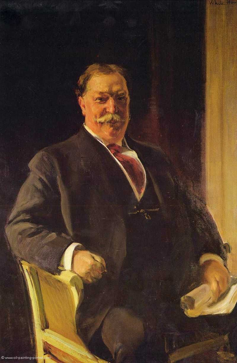 Portrait of Mr. Taft (President of the United States)