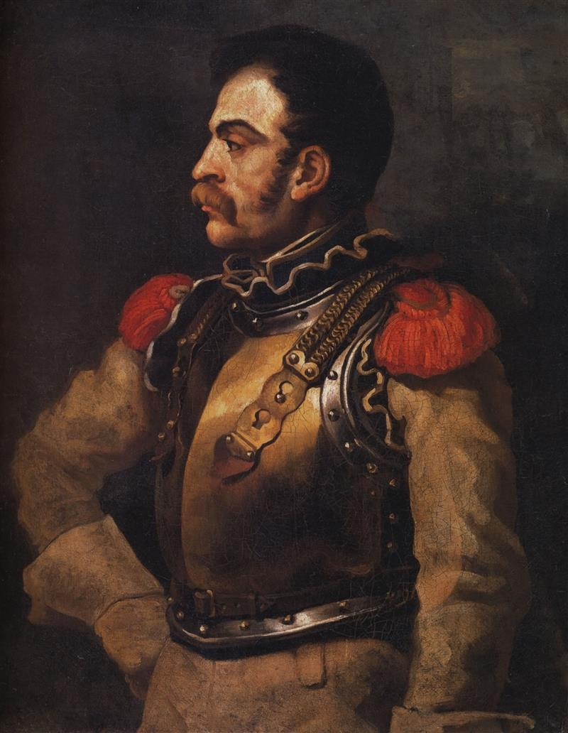 Portrait of a Carabineer