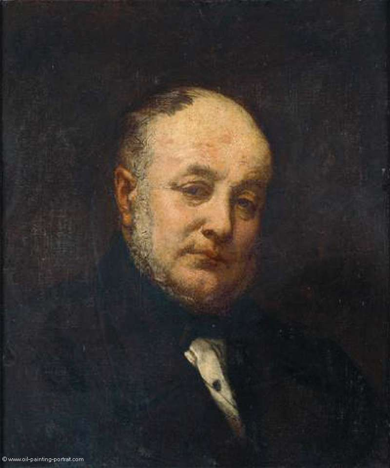 Portrait of the Architect Emile Gilbert