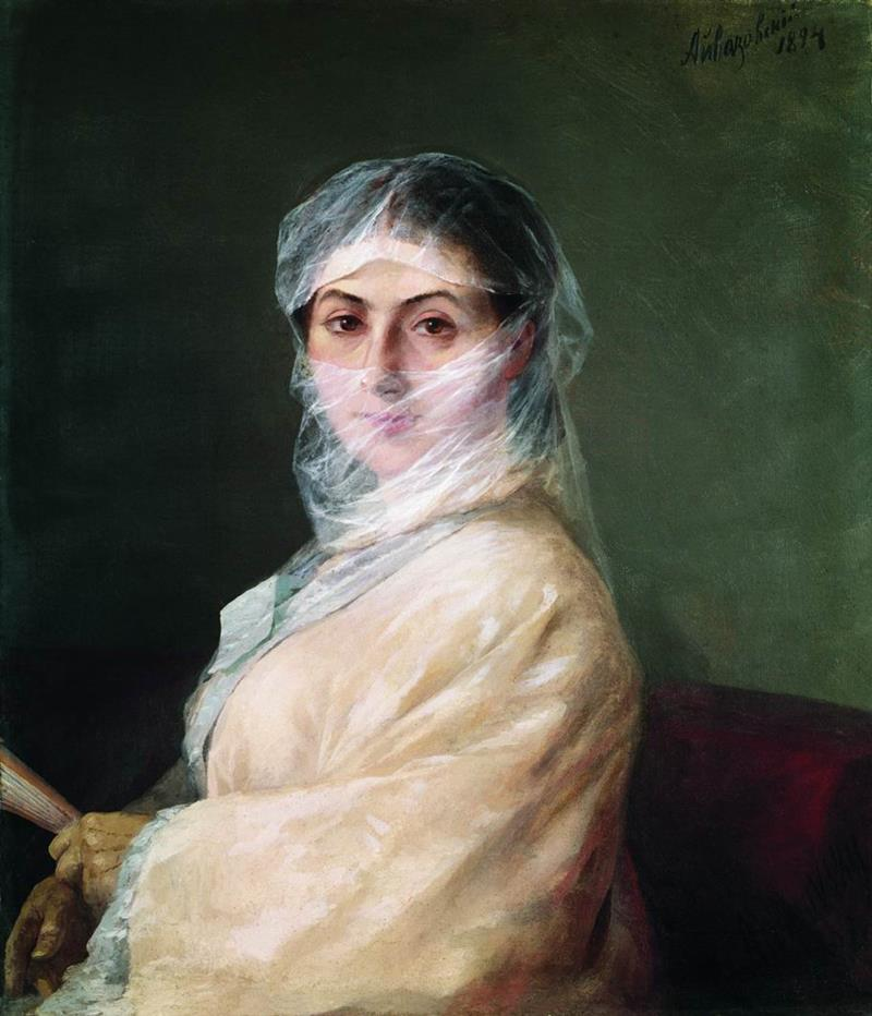 Portrait of the Artist's Wife Anna