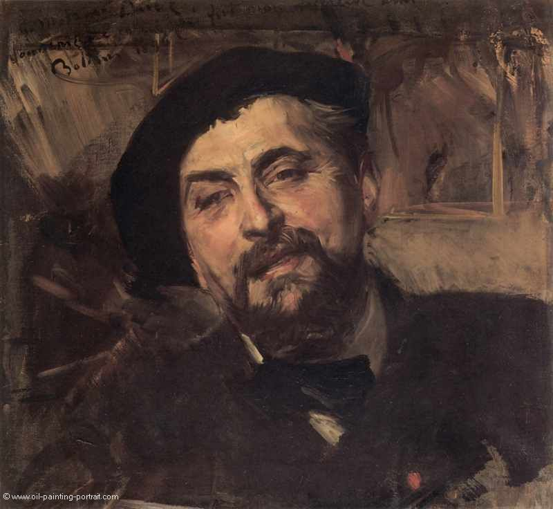 Portrait of the Artist Ernest Ange Duez