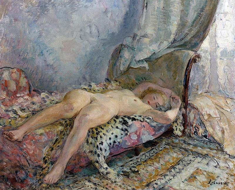 Reclining Nude in an Interior