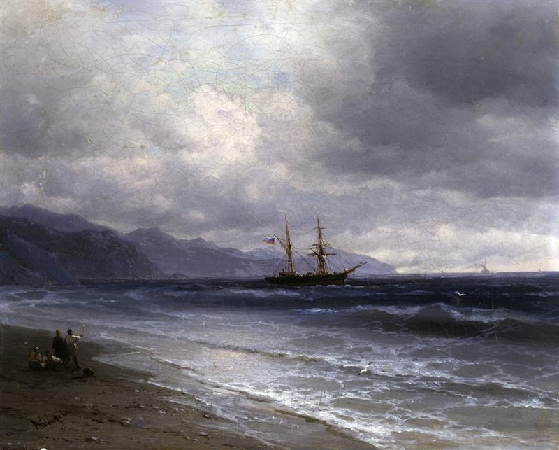 Seascape with a Schooner