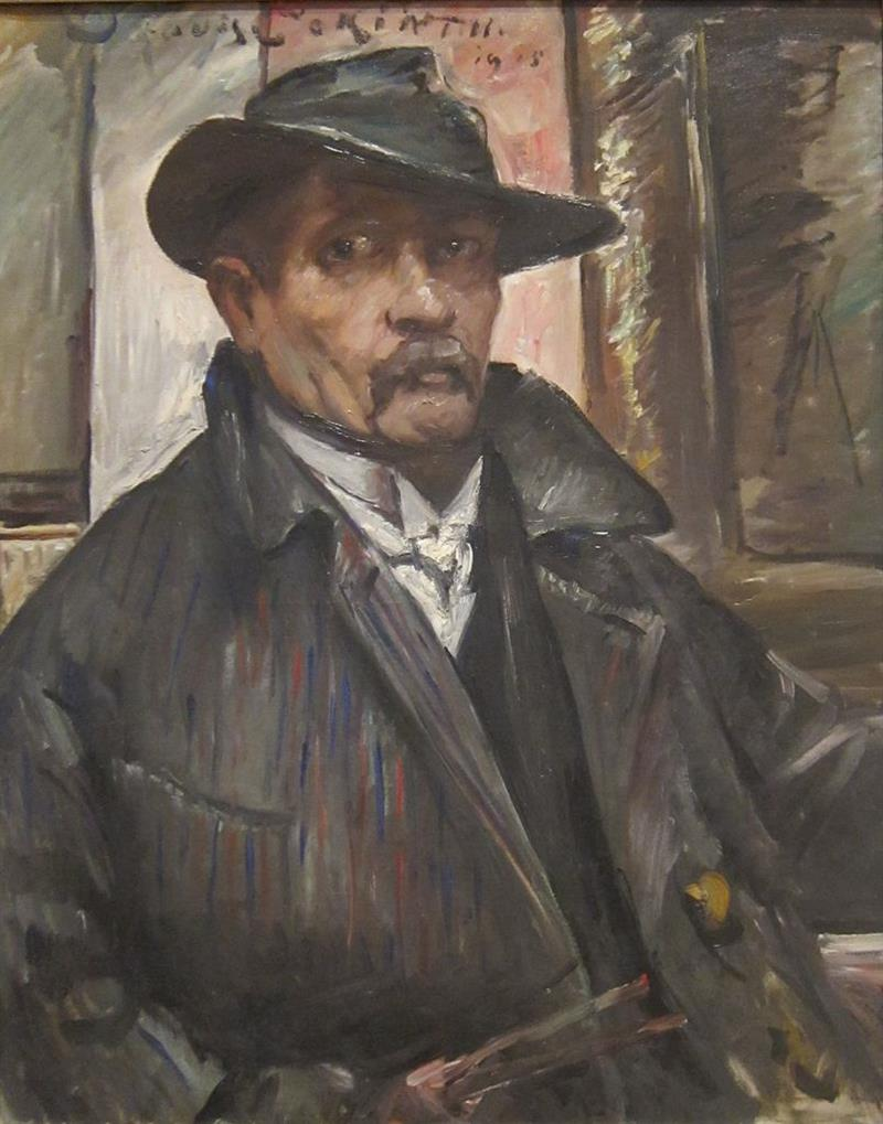 Self-Portrait with Hat and Coat
