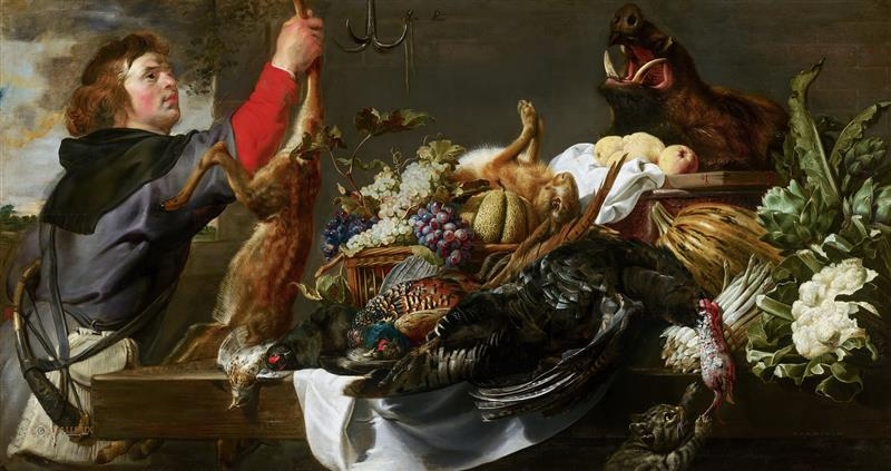 Still Life with Huntsman