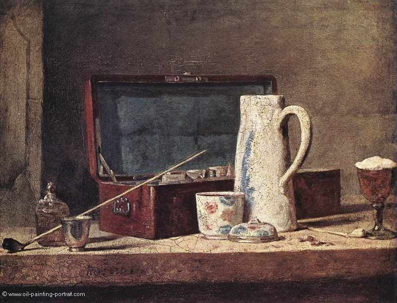 Still Life with Pipe and Jug