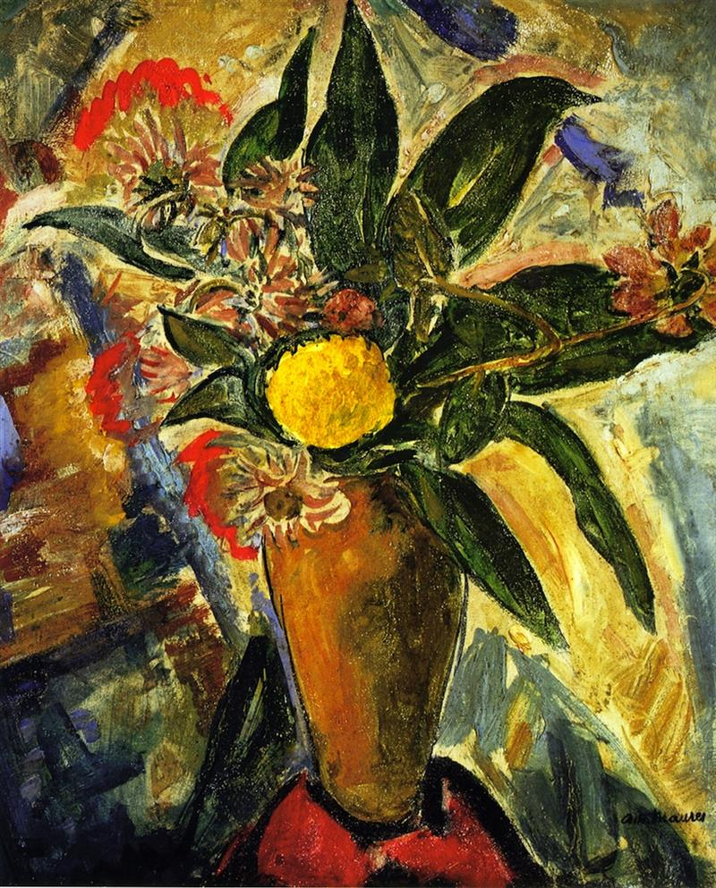 Still Life with Vase and Flowers