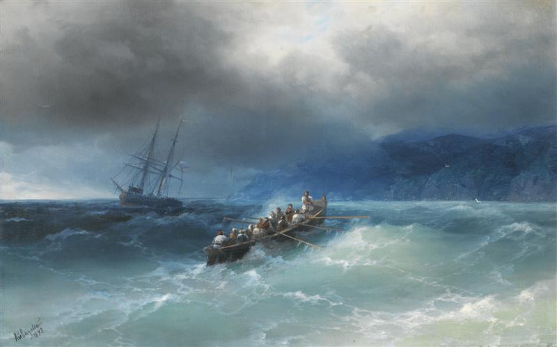 Storm on the Black Sea