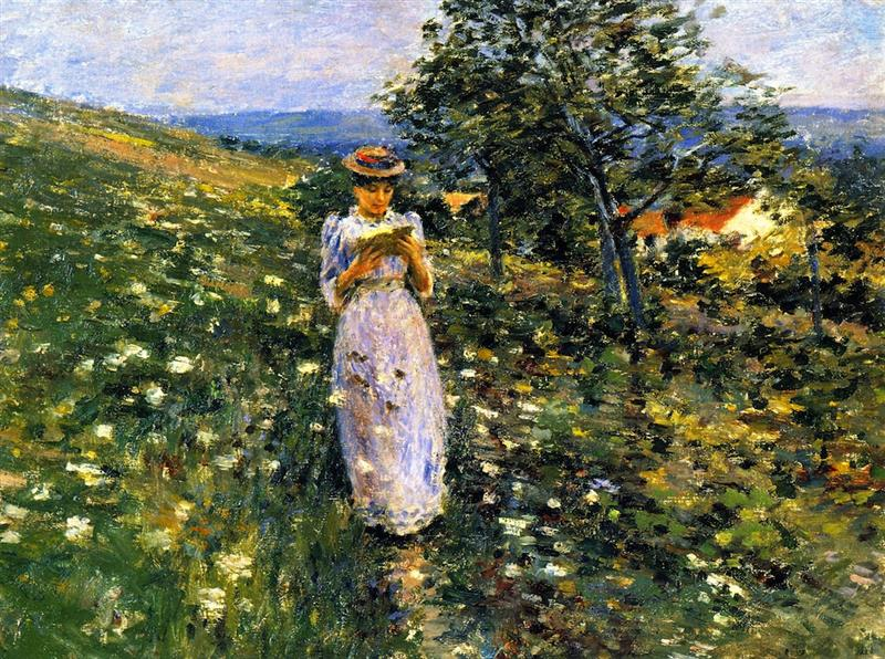 Summer Hillside, Giverny