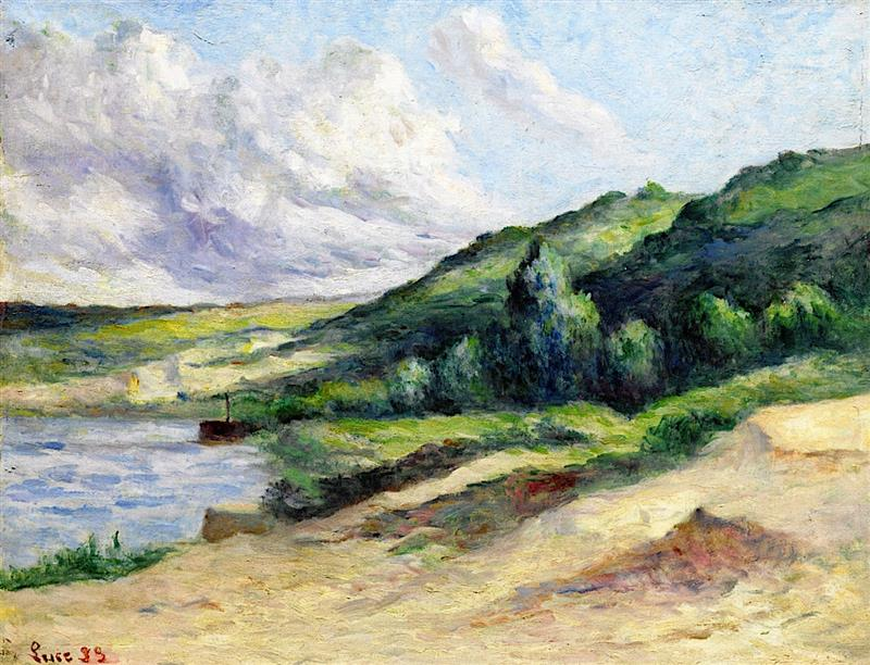 The Banks of the Seine at Rolleboise