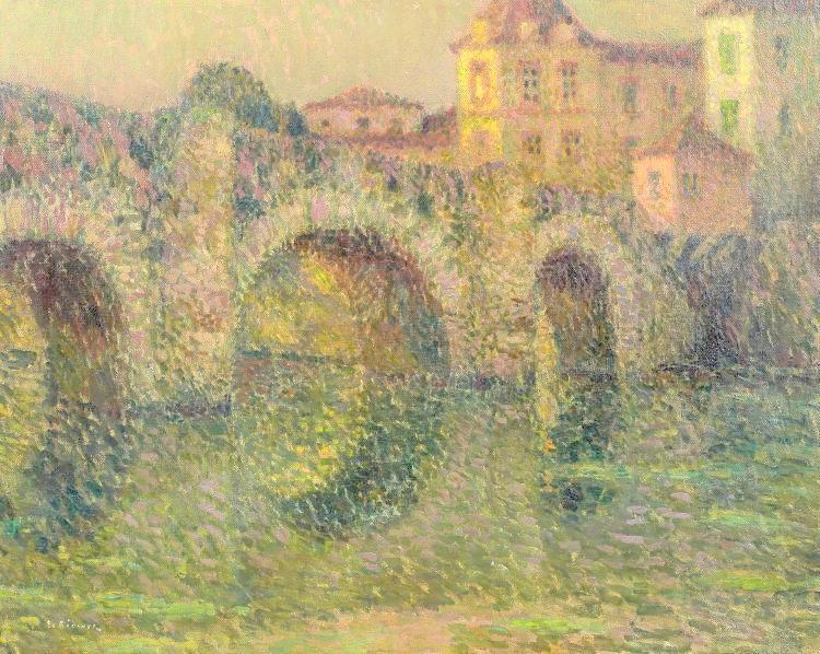 The Bridge, Sunset, Clisson