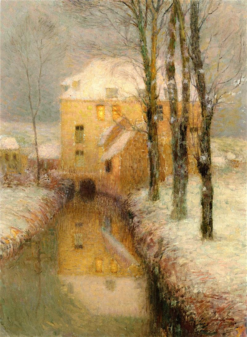 The Canal, Snow