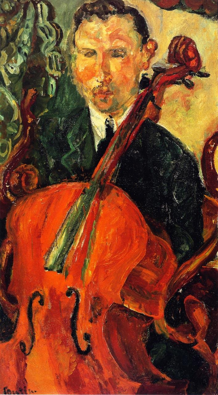 The Cellist (Serevitsch)