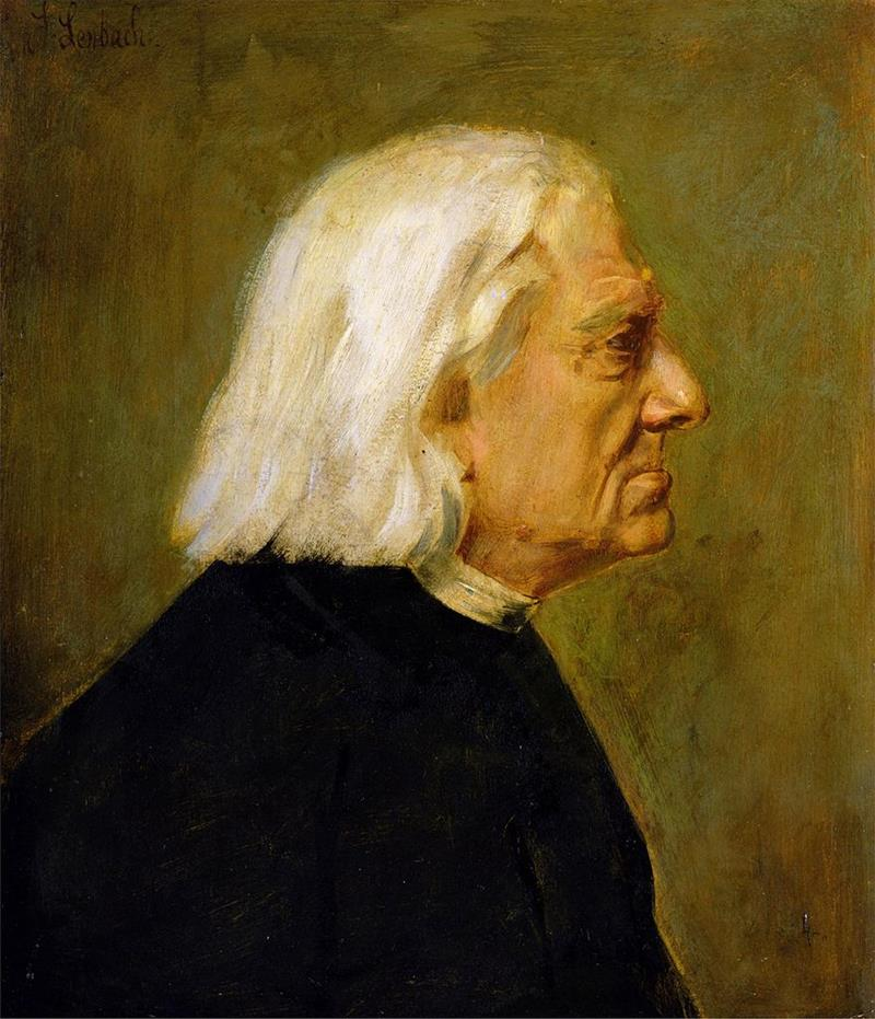 The Composer Franz Liszt