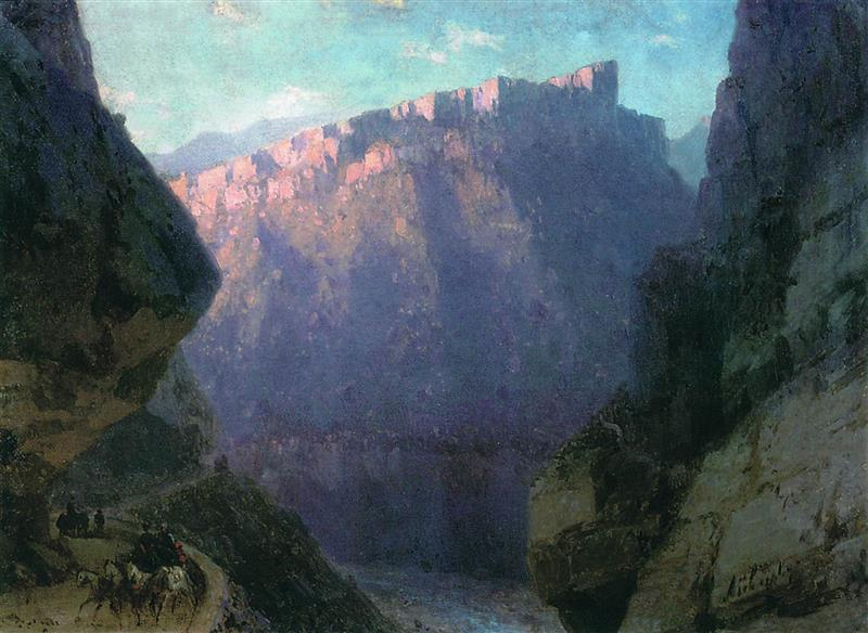 The Daryala Gorge