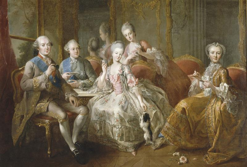 The Family of the Duke of Penthièvre