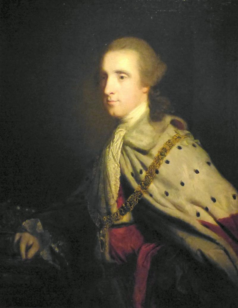 The Fourth Duke of Queensbury ('Old Q') as Earl of March