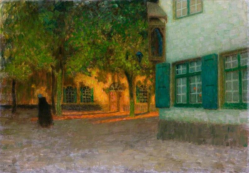 The House with the Green Shutters, Bruges