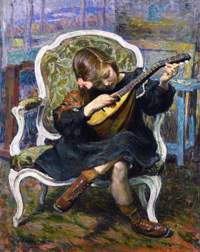 The Little Mandolin Player
