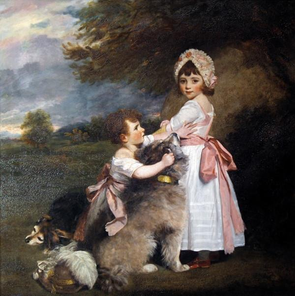 The Marquis of Granby and Lady Elizabeth Manners, as Children