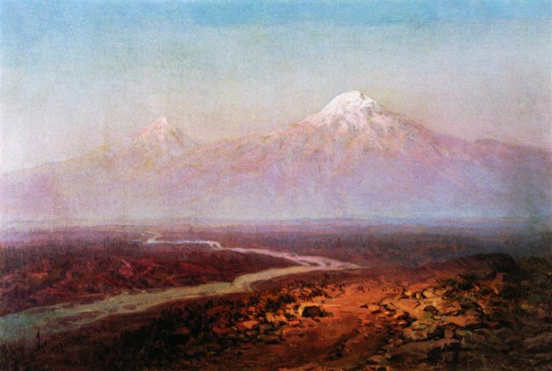 The River Araks and Mountain Ararat