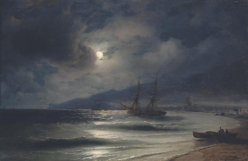The Seashore at Night