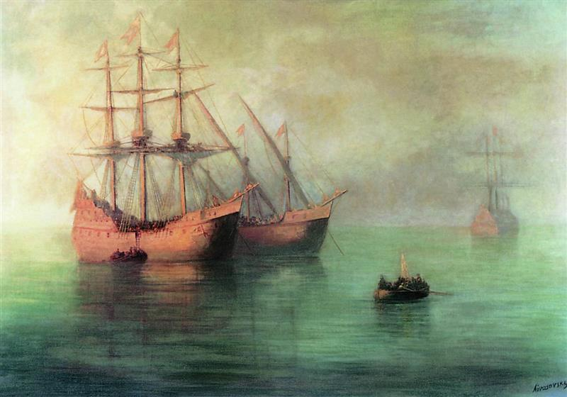 The Ships of Columbus
